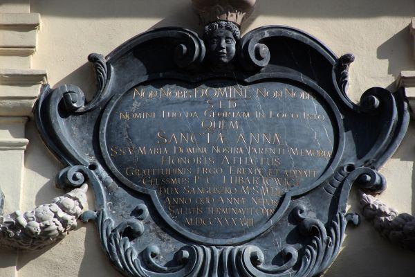 Lubartów, kościół par. p.w. św. Anny, 1 poł. XVIII, 1860 -1871 r.