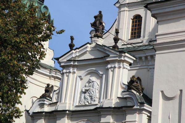 Lubartów, kościół par. p.w. św. Anny, 1 poł. XVIII, 1860- 1871