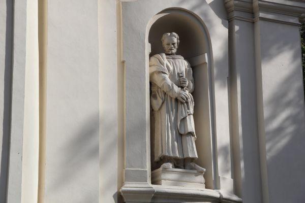 Lubartów, kościół par. p.w. św. Anny, 1 poł. XVIII, 1860- 1871 r