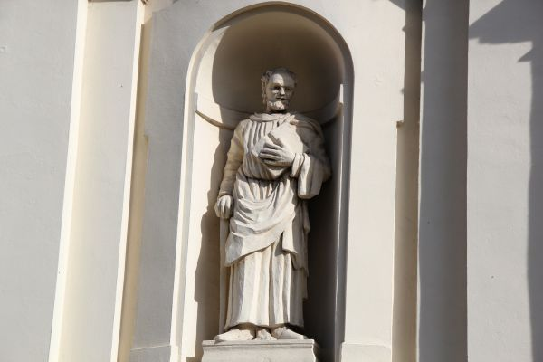Lubartów, kościół parafialny p.w. św. Anny, 1 poł. XVIII, 1860-1871