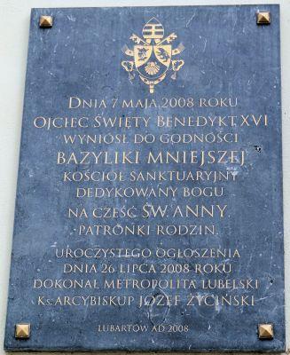 Saint Anne church in Lubartów - 01