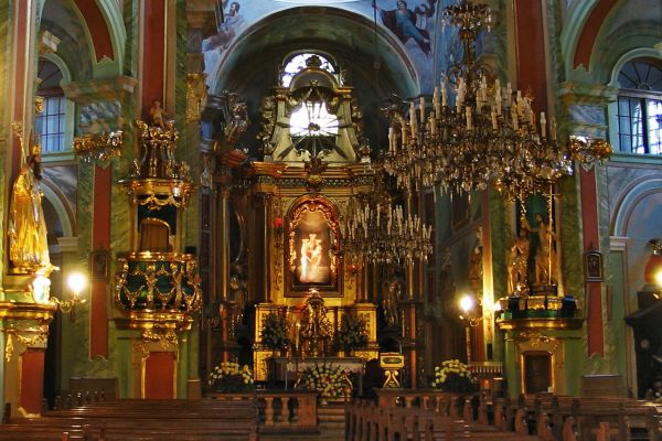 Bazylika pw. św. Anny,-wnętrze 2
