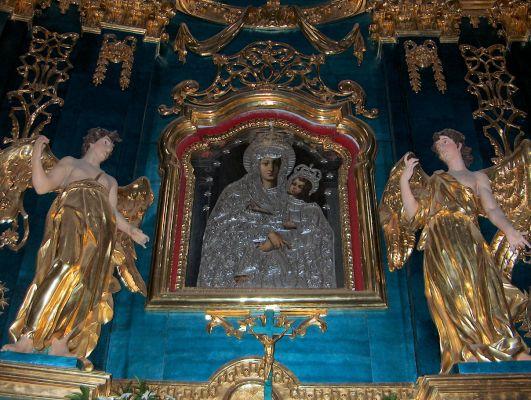 POL Lubartów, ołtarz Matki Bożej w kościele św. Anny