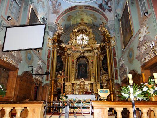 Saint Anne church in Lubartów - Interior - 05