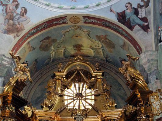 Saint Anne church in Lubartów - Interior - 07