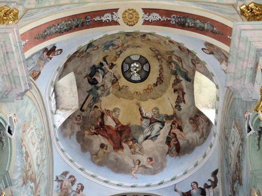 Saint Anne church in Lubartów - Interior - 08