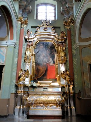 Saint Anne church in Lubartów - Interior - 19