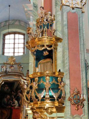 Saint Anne church in Lubartów - Pulpit - 01