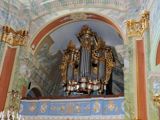 Saint Anne church in Lubartów – Pipe organs - 01