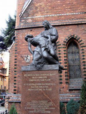 Szczecin kosciol sw. Jana Chrzciciela pomnik 2