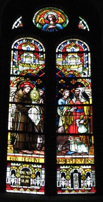 Panewniki stained glass 19