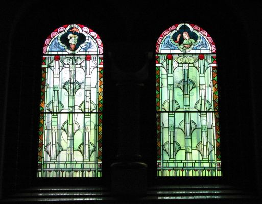 Panewniki stained glass 40