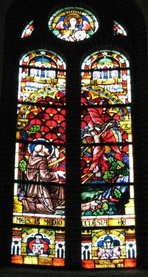 Panewniki stained glass 51