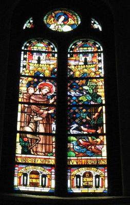 Panewniki stained glass 52