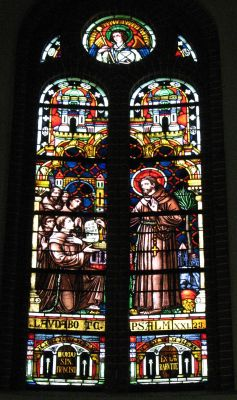 Panewniki stained glass 53
