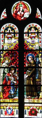Panewniki stained glass 6