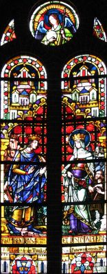 Panewniki stained glass 9