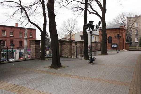 Bazylika piekarska - wejście od Placu Mariańskiego