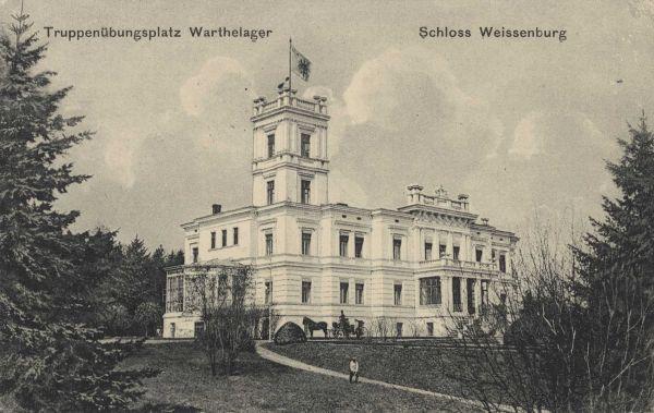 Schloss Weissenburg in Posen 1915