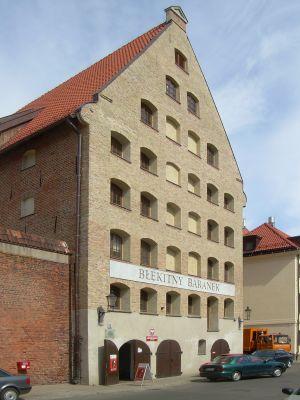 Gdańsk Wyspa Spichrzów - Spichlerz Błękitny Baranek (2)