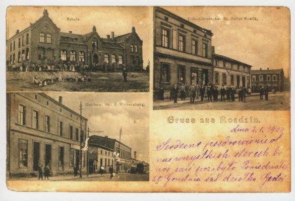 Kattowitz - Schoppinitz 3 - Schule, Gasthaus