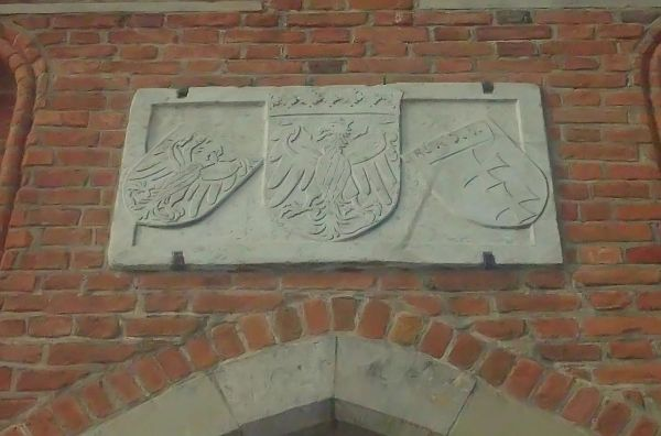 Relief at Mariacka Gate in Gdańsk