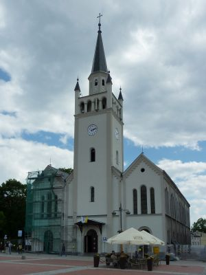 Saints Catherine and John the Baptist church in Bytów