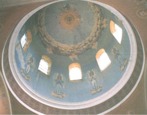 Stare Oleszyce-cerkiew polichromia