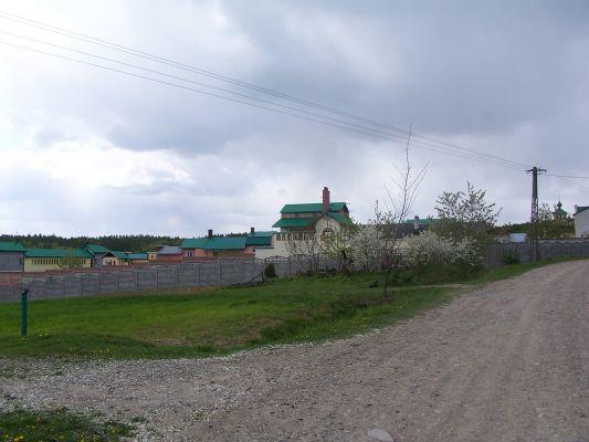 Zabudowania monasteru Śww. Cyryla i Metodego w Ujkowicach