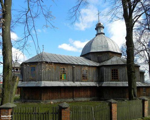 Dachnów, Cerkiew Podwyższenia Krzyża Świętego - fotopolska.eu (298910)