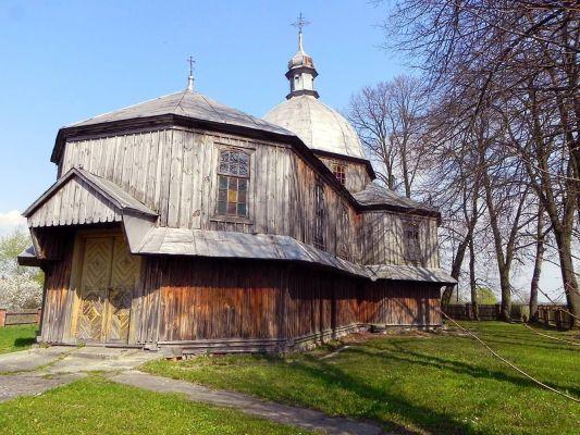 Dachnów, Cerkiew Podwyższenia Krzyża Świętego - fotopolska.eu (202966)