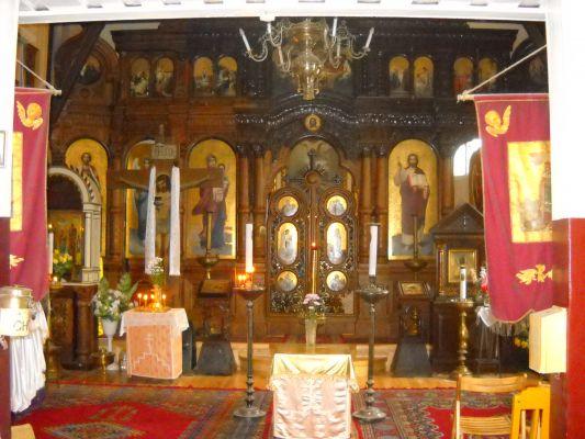 Cerkiew w Toruniu wnętrze