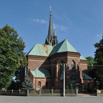PL - Chorzelów - kościół Wszystkich Świętych - Kroton 001