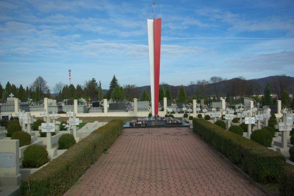 Polish military quarter at Central Cemetery in Sanok entry 2
