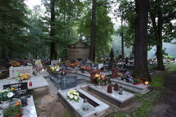 Cmentarz św. Jadwigi w Pszczynie - kaplica Boenischów od północy