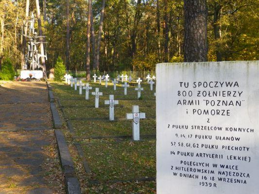 War cemetery in Granica