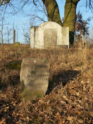 Pomnik na cmentarzu żydowskim w sierpcu