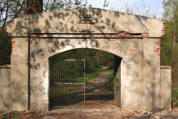Cmentarz żydowski w Częstochowie brama p