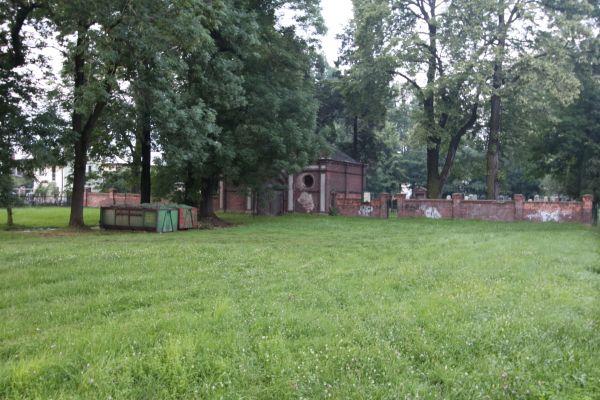 Cmentarz żydowski w Pszczynie - front