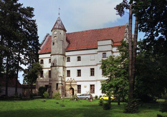 Dwór (zamek) w Czernej