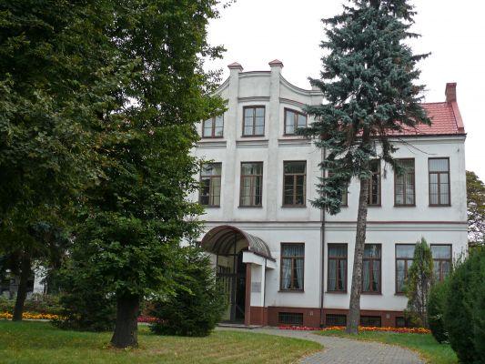 Dawny szpital żydowski (1905r.) (front fot 2) - Biała Podlaska ul. Janowska 29 woj. lubelskie ArPiCh A-239
