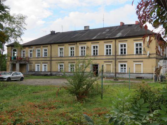 Toszek, ul. Strzelecka 23 (Dom Dolny), widok od wsch