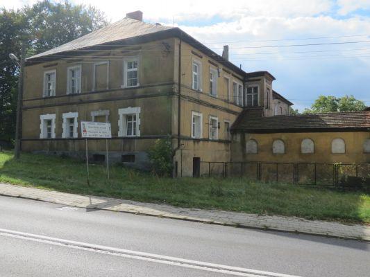 Toszek, ul. Strzelecka 23 (Dom Dolny), widok od pn-zach