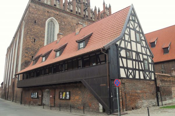 Gdańsk ulica Świętej Trójcy – dom galeriowy