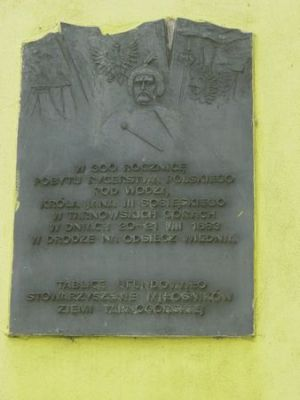 Tarnowskie Gory - Winiarnia Sedlaczka - tablica