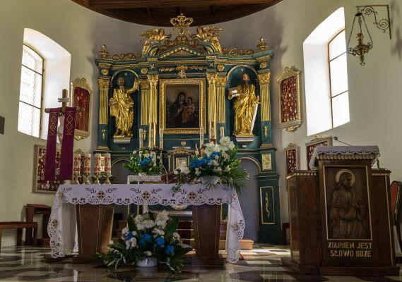 Kościół Nawiedzenia N.M.P. w Domosławicach a1