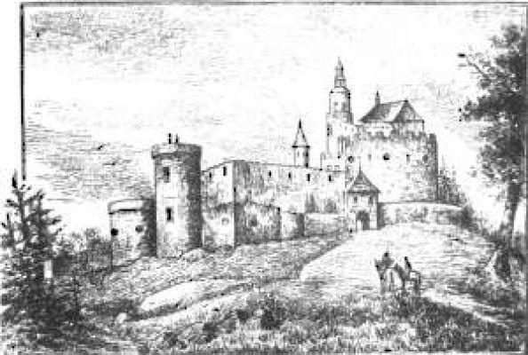 Dwór Schaffgotschów w Janowicach Wielkich