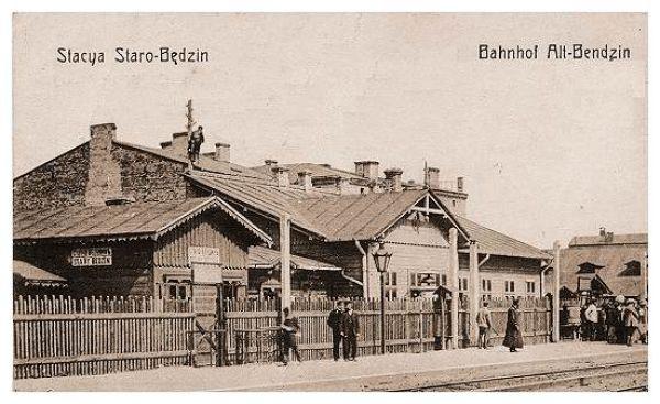 Dworzec kolejowy Będzin Miasto