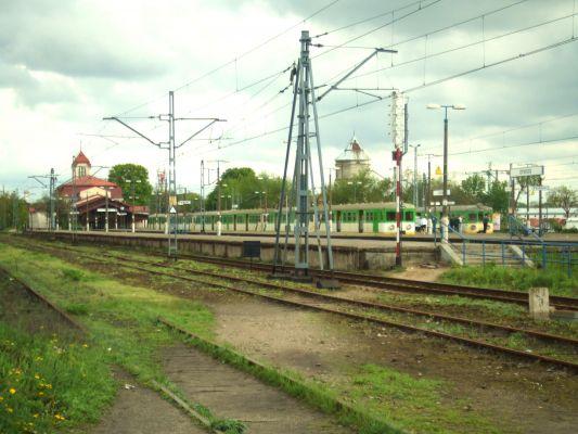 Dworzec kolejowy w Otwocku - tył - 1