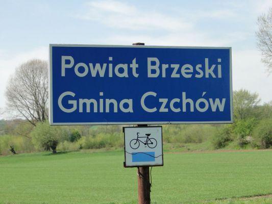 Gmina Czchów tablica
